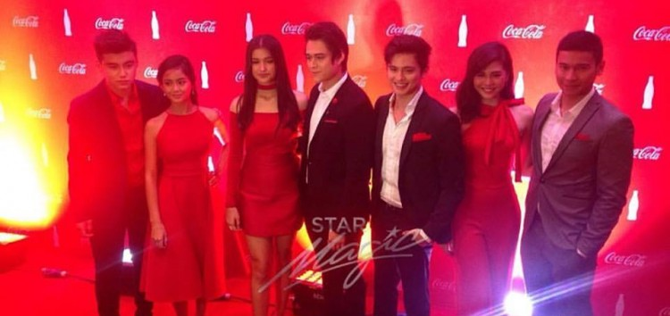 LizQuen, BaiLona and James Reid join the Coca-Cola family