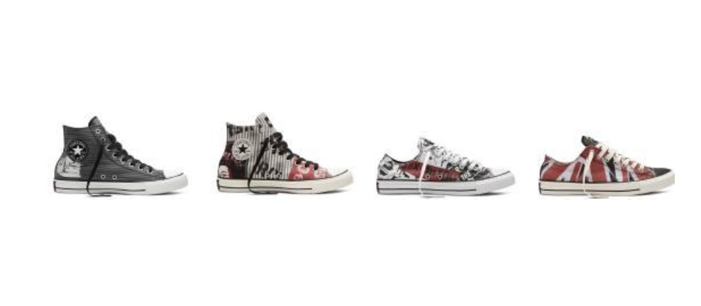 b2e79a0c7394a6 Express your rocker side with Converse Chuck Taylor All Star Sex Pistols  Collection