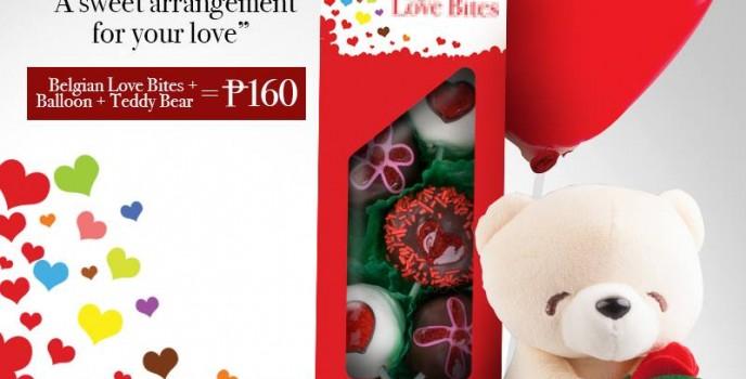 Belgian Love Bites: Mister Donut's budget friendly offer for Valentine's Day