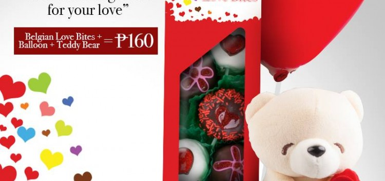 Belgian Love Bites: Mister Donut's budget friendly offer for Valentine's Day