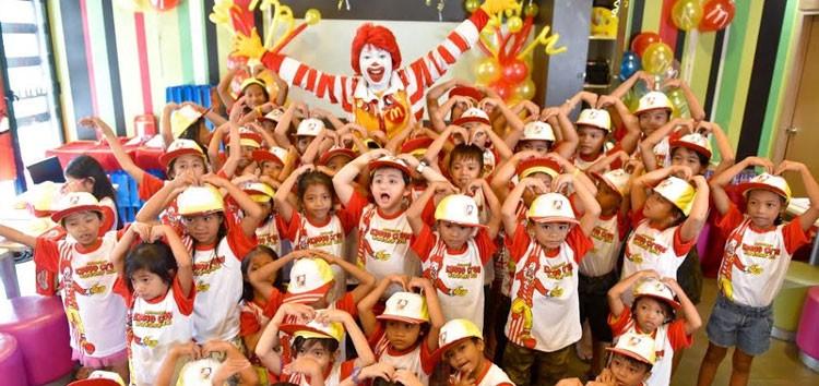 Alonzo Muhlach shares McDonald's Kiddie Crew fun to his chosen charity