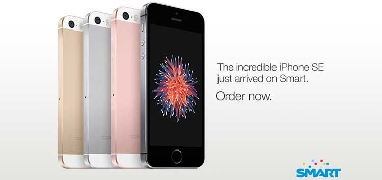 SMART now offers the new iPhone SE free at Plan 1500