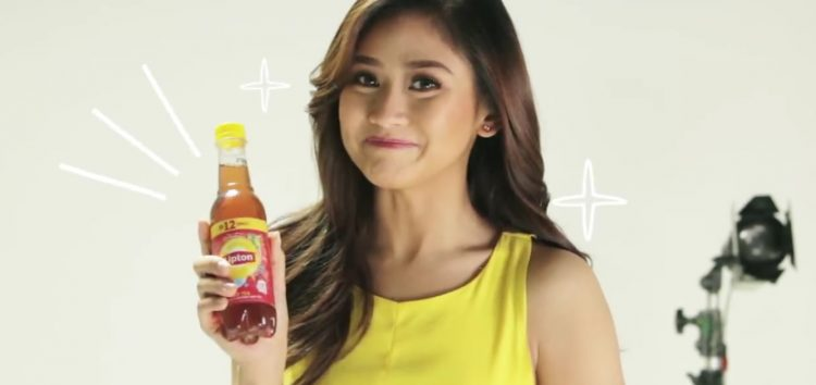 Popstar Royalty Sarah Geronimo makes a refreshing choice with Lipton Ice Tea