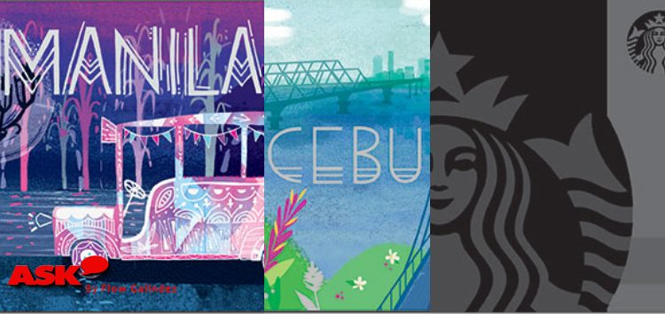 Celebrate Starbucks Card 3rd Anniversary with three new limited edition designs