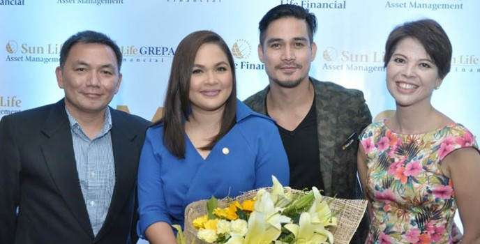 """Judy Ann and Piolo reunited to advocate financial literacy in Sun Life Financial's """"Money for Life"""" campaign"""