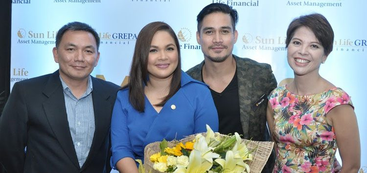"Judy Ann and Piolo reunited to advocate financial literacy in Sun Life Financial's ""Money for Life"" campaign"