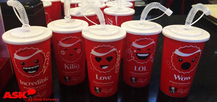 Coca-Cola and KFC introduce limited edition EmotiCups