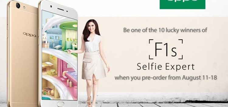 OPPO F1s is now available for pre-order!