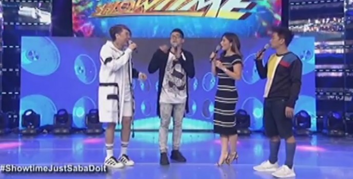 "Vice Ganda, Jhong Hillario challenge broadcasters Ted Failon and Noli de Castro to do ""Pak Ganern"" game"
