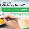 Be the first on the line to own the SMART powered Samsung Galaxy Note7