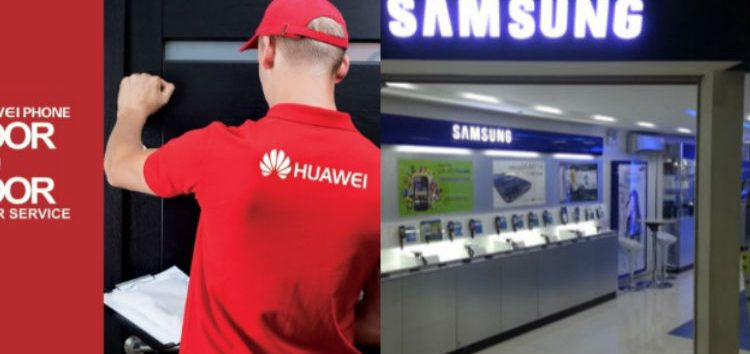 Samsung, Apple and Huawei bare After-Sales Service Programs