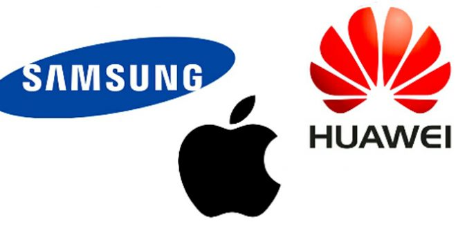 Samsung and Apple threatened by Huawei's growth