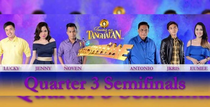 Vocal showdown on Tawag ng Tanghalan Quarter 3 Semi-Finals happening on Oct 3-8!