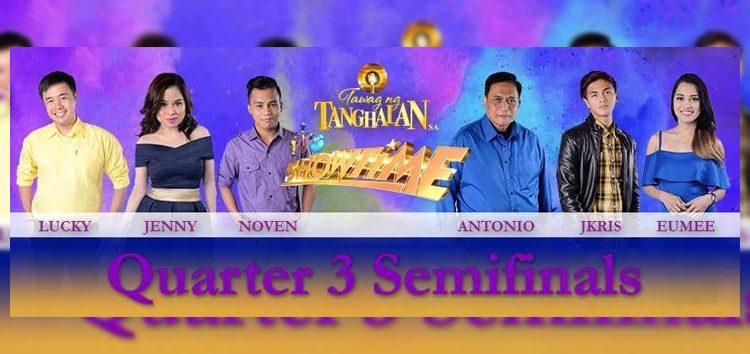 Vocal showdown on Tawag ng Tanghalan Quarter 3 Semi-Finals happening on Oct 3-8!