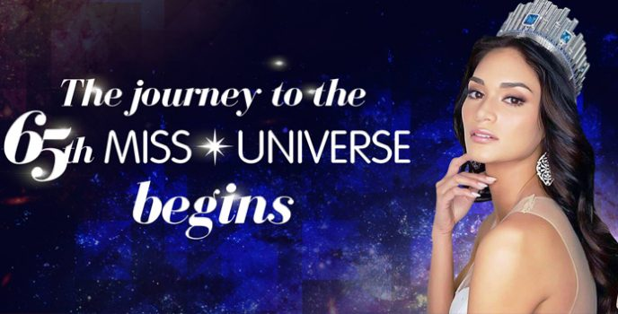 The 65th Miss Universe is officially happening in the Philippines on January 30, 2017 at SM MOA Arena