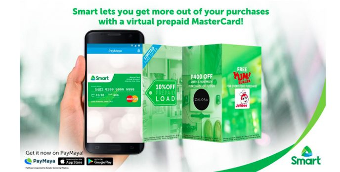 Online shopping made easy with SMART and PayMaya powered Mastercard