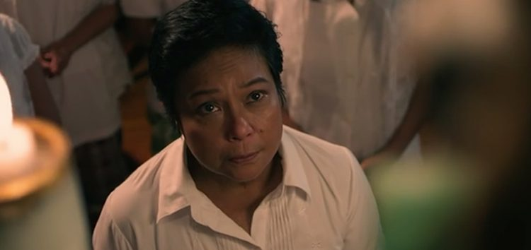 "Nora Aunor sits at the ""Kabisera"" in the 2016 Metro Manila Film Festival"