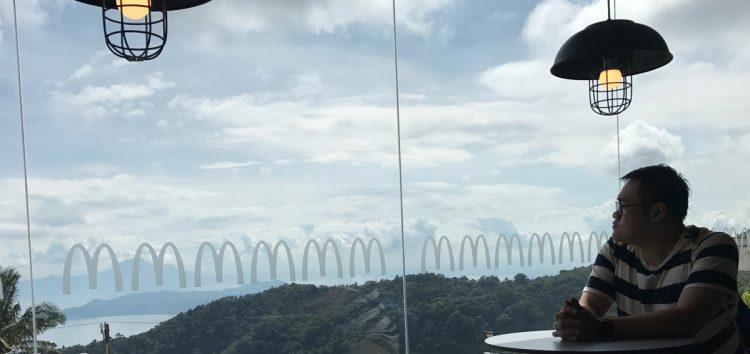 Enjoy your favorite meals and the overlooking Taal Volcano at McDonald's Tagaytay-Calamba branch