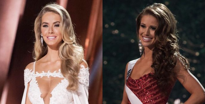 Miss USA Olivia Jordan & Nia Sanchez are Special Guests of PLDT & Smart in the 65th Miss Universe