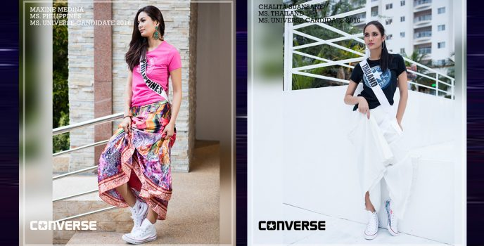 Miss Universe and Converse join force to raise funds for Positive Action Foundation