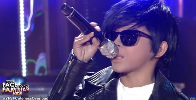 WATCH: Awra Briguela transforms to Daniel Padilla in Your Face Sounds Familiar: Kids