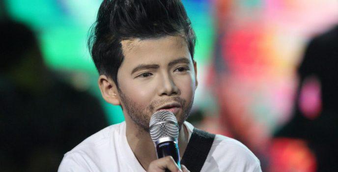 Justin Alva transforms to Maroon 5's Adam Levine Your Face Sounds Familiar: Kids
