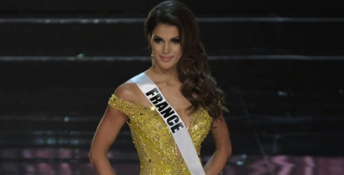 Iris Mittenaere of France is the new Miss Universe!
