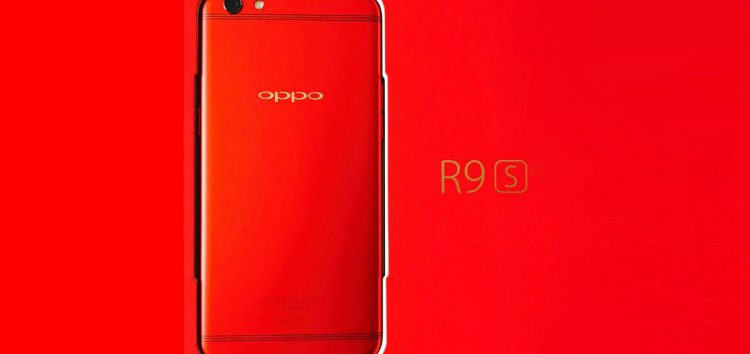 "LOOK: OPPO limited edition ""red"" R9s model"