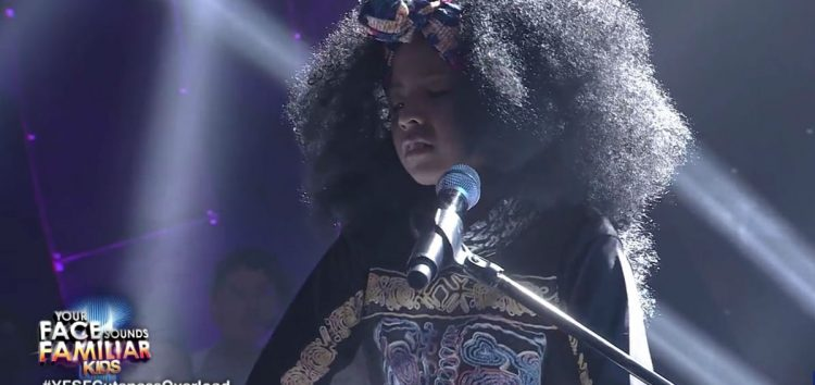 WATCH: Sam Shoaf transforms to Alicia Keys in Your Face Sounds Familiar: Kids