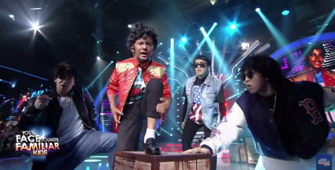 WATCH: Justin Alva transforms to Michael Jackson in Your Face Sounds Familiar: Kids