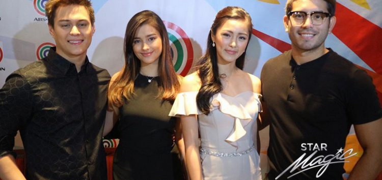 Kim, Gerald, Liza and Enrique renew contracts with ABS-CBN