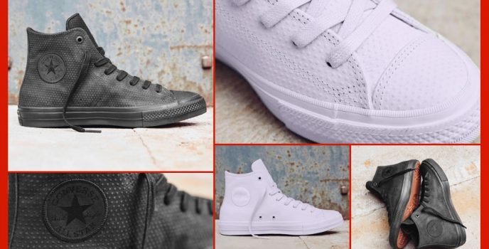 Converse unveils Chuck Taylor All Star II Mono Lux Leather sneakers