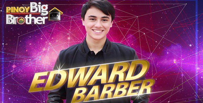 Edward Barber – Pinoy Big Brother Lucky Season 7 4th Big Placer