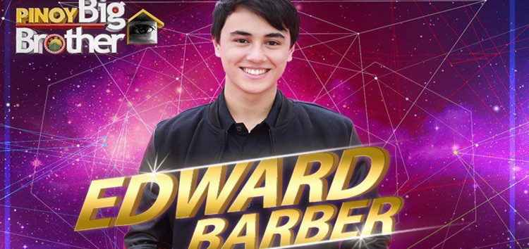 Edward Barber – Pinoy Big Brother Lucky Season 7 4th Big Placer