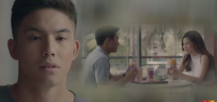 "Tony Labrusca joins McLisse in the ""Tuloy Pa Rin"" McDo TVC"