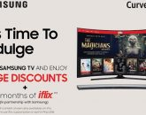 "Enjoy up to 47% discount in Curved TVs in Samsung's ""It's Time to Indulge"" Women's Month Promo"