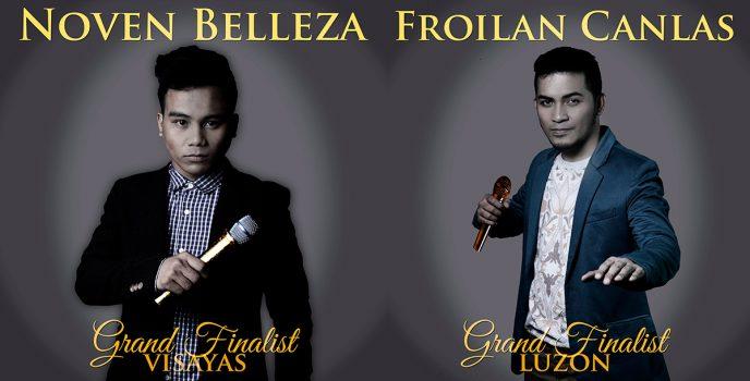 Noven Belleza and Froilan Canlas are moving to Tawag ng Tanghalan Final Showdown