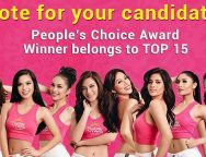 "Vote for your favorite ""Binibini"" to the top 15 in the ""Binibining Pilipinas 2017 Coronation Night"""