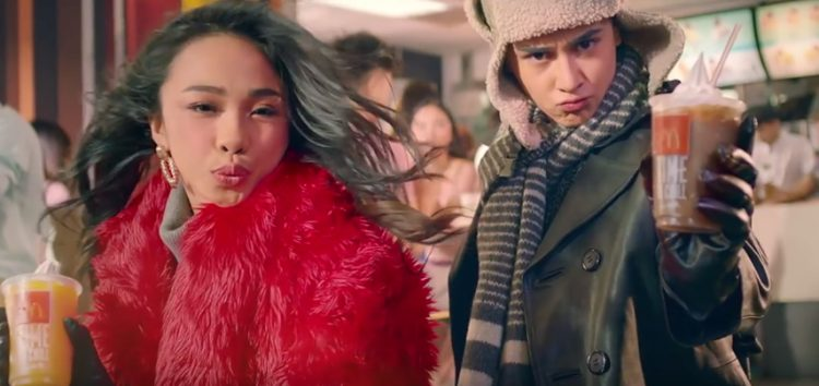 Keep it cool with #MayWard and McDonald's Creamy McFreeze
