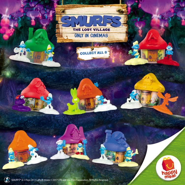 Smurfs-McDo