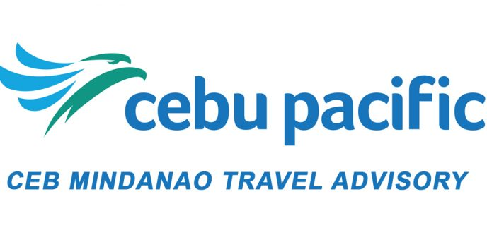 Cebu Pacific releases Mindanao travel advisory