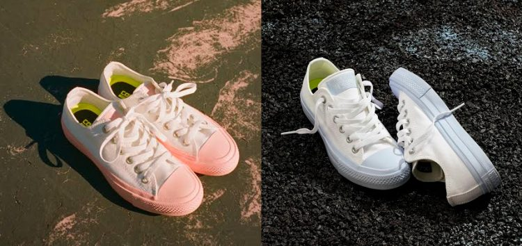"Bring that ""girly rockstar"" in you with Chuck Taylor All Star II Pastel Midsole"