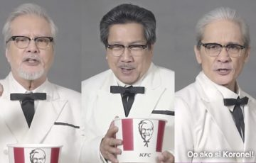 Ronaldo, Leo or Pen: who should be the Pinoy version of KFC's Colonel Sanders?