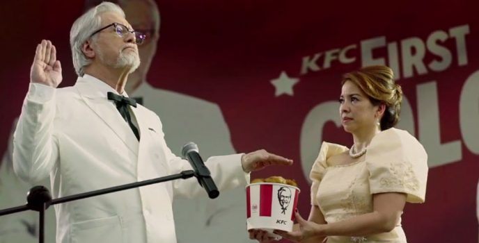Ronaldo Valdez is KFC's first Filipino colonel