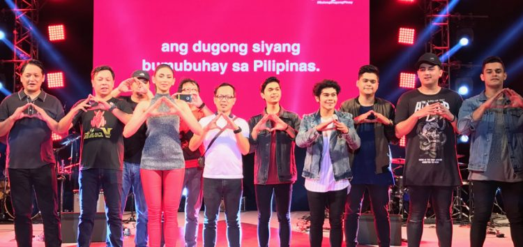 Sarah Geronimo, The Dawn join Sangobion to uphold a blood healthy country