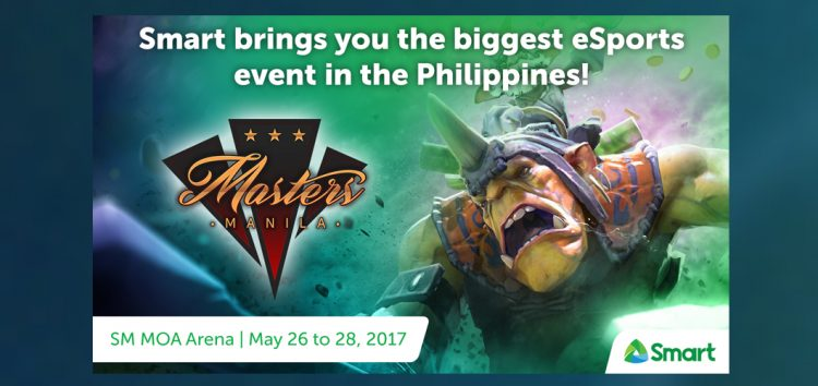 Witness the biggest and grandest Manila Masters 2017 with Smart!