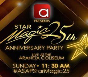 Star Magic celebrates silver anniversary at The Big Dome!