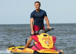 "Zac Efron channels Ryan Lochte in the new sex comedy ""Baywatch"""