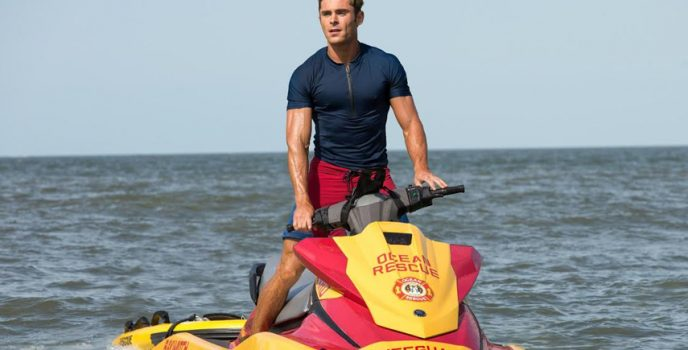 "Zac Efron channels Ryan Lochte in the new sex comedy ""Baywatch"""