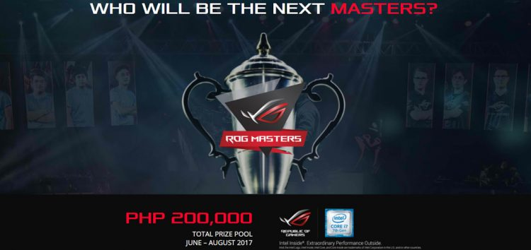 ASUS Republic of Gamers formally announces ROG Masters 2017; PH Qualifiers to kick off this June!